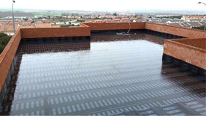 Servicios de impermeabilización con láminas sintéticas Alicante - Empresa profesional