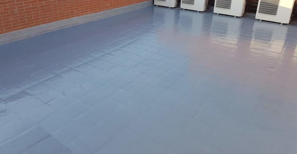 Servicios de impermeabilización con membrana de poliuretano Alicante - Empresa profesional