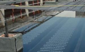 Servicio de impermeabilización con laminas sintéticas Alicante