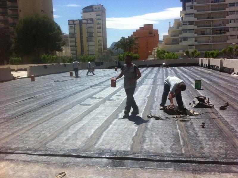 Impermeabilización con membrana de poliuretano Valencia
